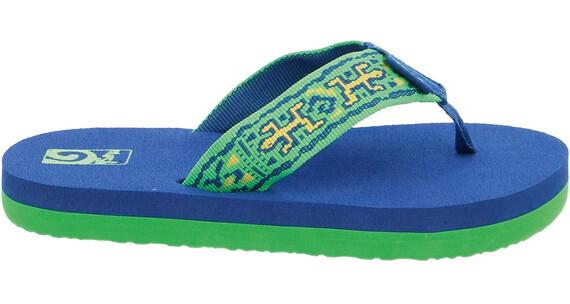Teva Mush II Sandals Youth old lizard navy/lime